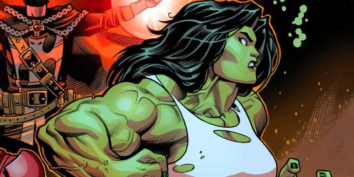 She-Hulk dans les comics
