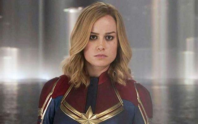 Brie Larson en Captain Marvel