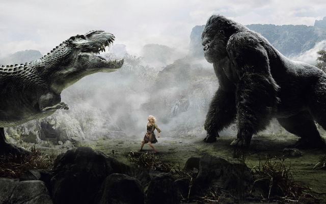 King Kong, image mise en avant.