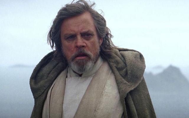 Mark Hamill en Luke Skywalker. Image mise en avant