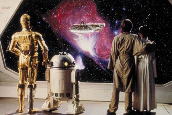 La scène de fin de Star Wars Épisode V, l'Empire contre-attaque
