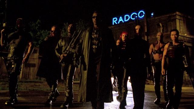 Image de Blade et son équipe de vampires.