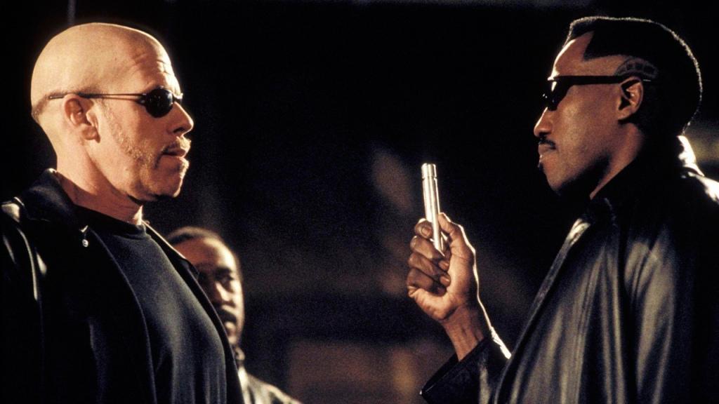 Image de Blade ( Wesley Snipes) et Adolf Reinhardt ( Ron Perlman)