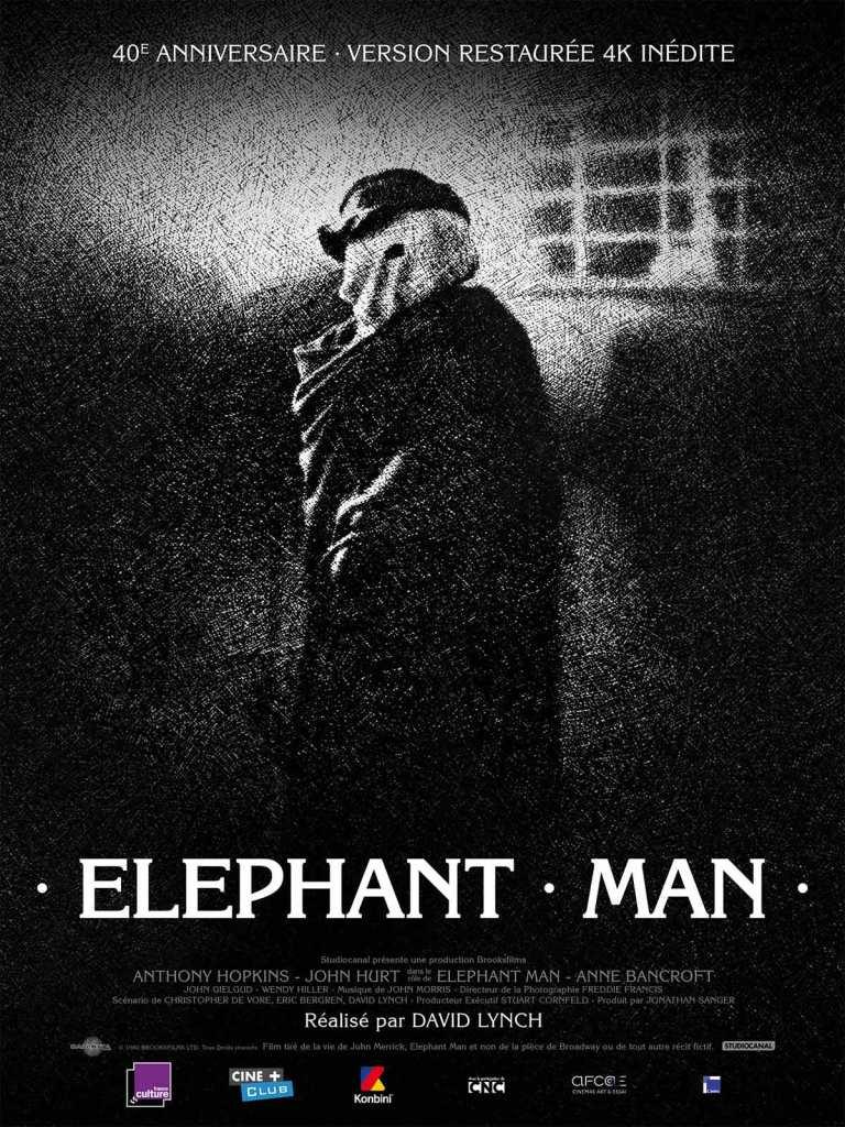 "Affiche du film ""Elephant Man"""