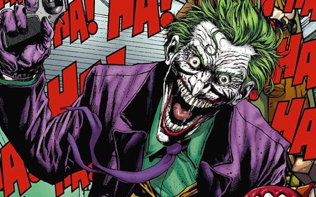 Image mise en avant du Joker dans les comics