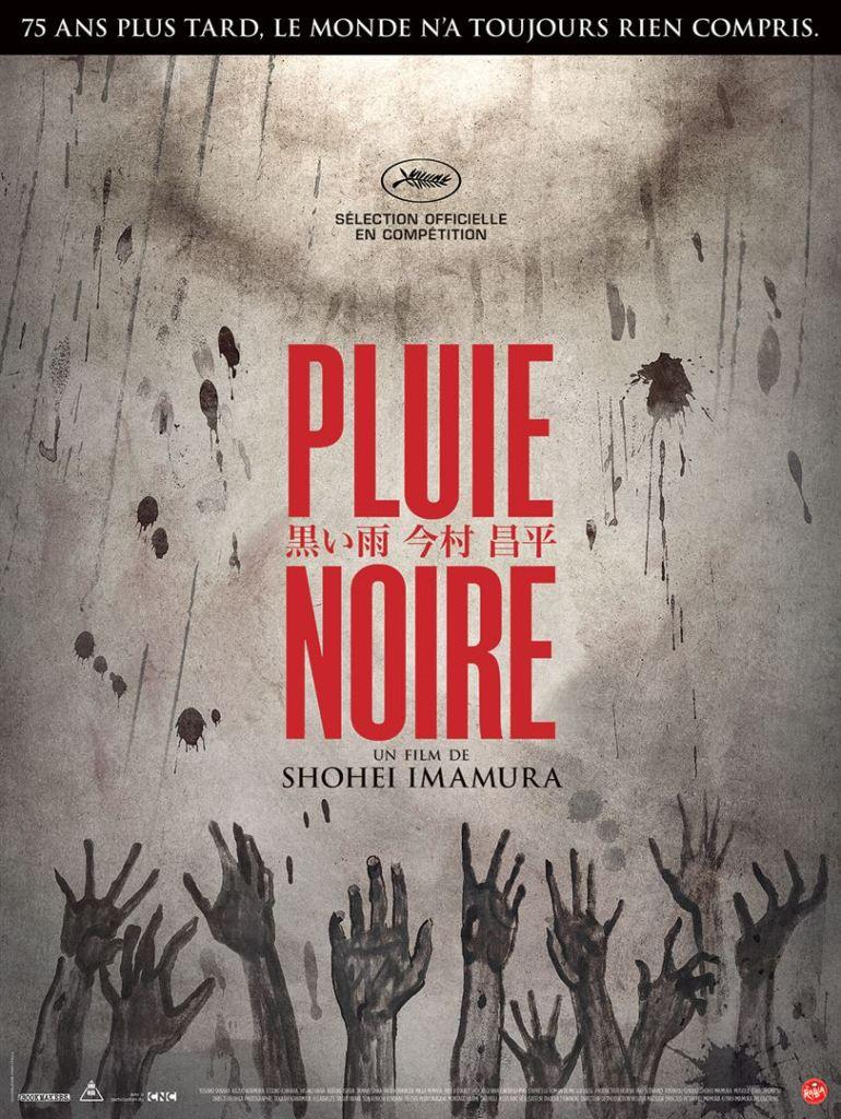 """Affiche du film """"Pluie Noire"""""""