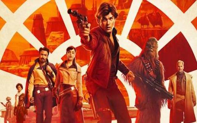 "Image mise en avant du film ""Solo : a Star Wars Story"""