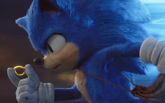 Image en avant de Sonic