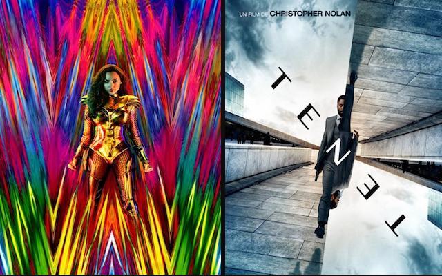 Image mise en avant de Tenet et Wonder Woman 1984