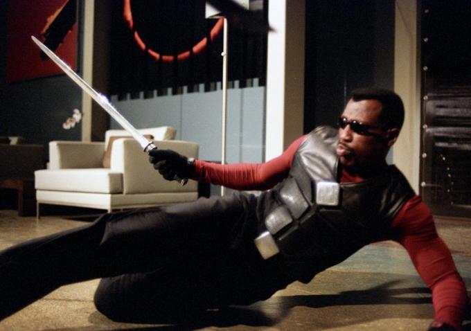 """Image de Wesley Snipes en tant que Blade dans """"Blade : Trinity"""""""