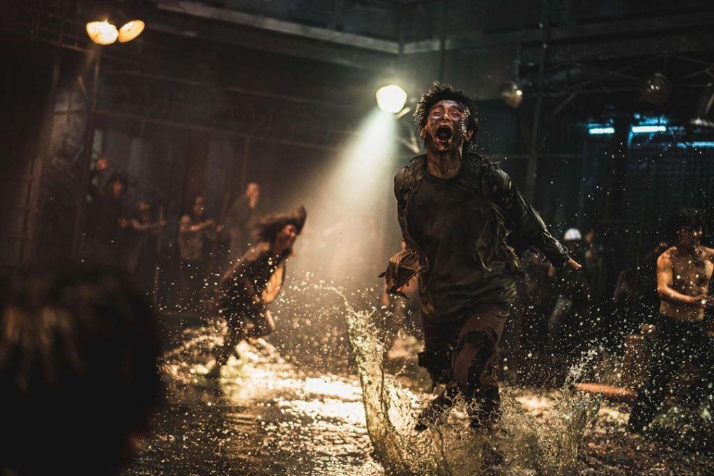 """Un zombie du film """"Un dernier train pour Busan"""" de Yeon Sang-Ho."""