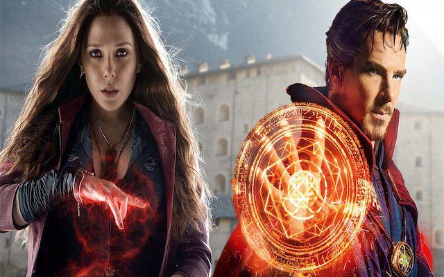 Image de Wanda et Doctor Strange